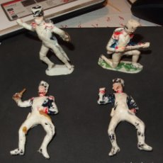 Figuras de Goma y PVC: 4 SOLDADOS NAPOLEÓNICOS FABRICADOS POR PECH,AÑOS 60. Lote 180181001