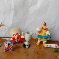 Figuras de Goma y PVC: LOTE MUÑECOS FIGURAS PVC WARNER BROS. Lote 180184360