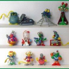 Figuras Kinder: FIGURAS SORPRESA HUEVOS KINDER CYBERTOP 2003 COLECCION COMPLETA. Lote 180184616