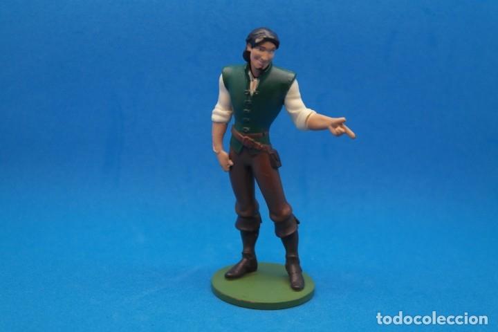 Figuras de Goma y PVC: FIGURA EN GOMA PVC PERSONAJE DE LA PELICULA ENREDADOS .Flynn Rider - DISNEY - Foto 2 - 180199432