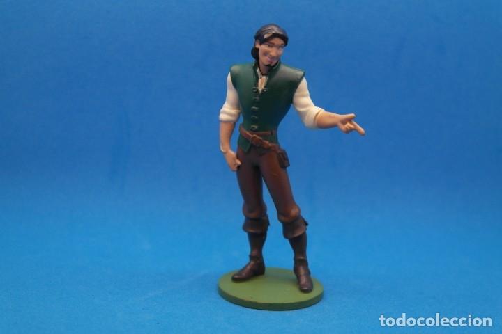 Figuras de Goma y PVC: FIGURA EN GOMA PVC PERSONAJE DE LA PELICULA ENREDADOS .Flynn Rider - DISNEY - Foto 3 - 180199432