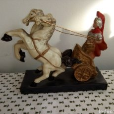 Figuras de Goma y PVC: ANTIGUA Y BONITA AURIGA ROMANA DE PLASTICO. Lote 180219493