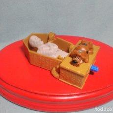 Figuras de Goma y PVC: FIGURA DE SCOOBY DOO CON MECANISMO MARCA HANNA BARBERA , EN PVC.. Lote 180220846