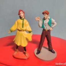 Figuras de Goma y PVC: 2 FIGURAS DE ANASTASIA MARCA FOX DE 1997 , EN GOMA PVC.. Lote 180221398