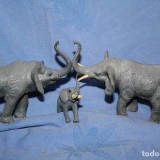 Figuras de Borracha e PVC: FAMILIA ELEFANTES 1998 . Lote 180261476