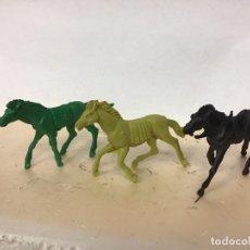 Figuras de Goma y PVC: FIGURA CABALLO OESTE WESTERN INDIO COWBOY NO PECH REAMSA COMANSI JECSAN LAFREDO. Lote 180288090