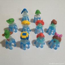 Figuras Kinder: MEDUSAS KINDER FERRERO MUÑECOS MARINOS MEDUSA. Lote 180343040