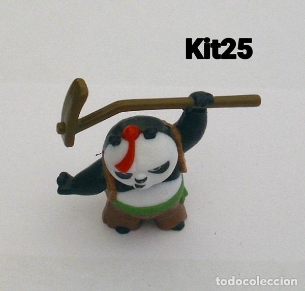 OSO PANDA KUNG FU PANDA FIGURA KINDER SOPRESA DWALLC FS278 (Juguetes - Figuras de Gomas y Pvc - Kinder)