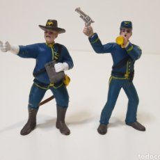 Figuras de Goma y PVC: 2 FIGURAS COMANSI 7° DE CABALLERÍA. Lote 180393855