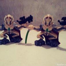 Figuras de Goma y PVC: 2 MUÑECOS PLASTICO. Lote 180403033