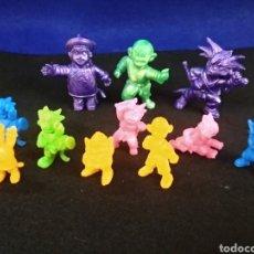 Figuras de Goma y PVC: LOTE DE 11 FIGURAS, GOKU, BOLA DE DRAGÓN. TOEI 1986. Lote 180408948
