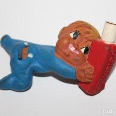 Figuras de Goma y PVC: MUÑECO BEBE DE GOMA PUBLICIDAD PETAKINO - AÑO 70. Lote 180410517