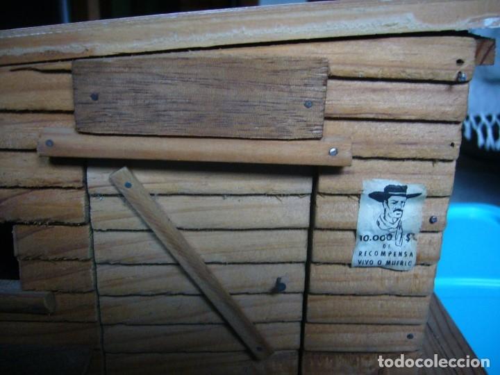 Figuras de Goma y PVC: RANCHO DE MADERA POSIBLE TEIXIDO - Foto 2 - 180464338