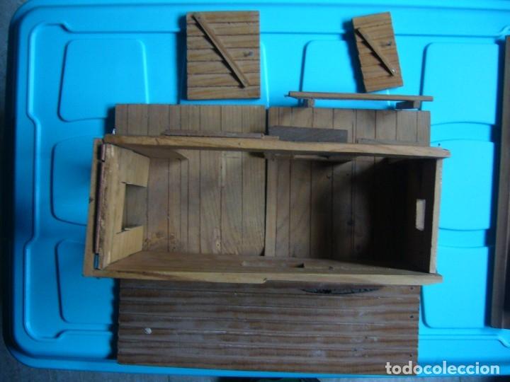 Figuras de Goma y PVC: RANCHO DE MADERA POSIBLE TEIXIDO - Foto 6 - 180464338
