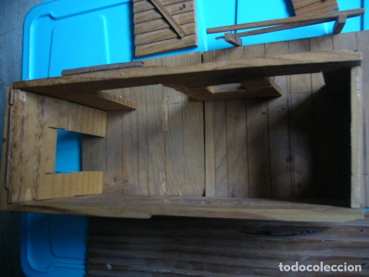 Figuras de Goma y PVC: RANCHO DE MADERA POSIBLE TEIXIDO - Foto 7 - 180464338