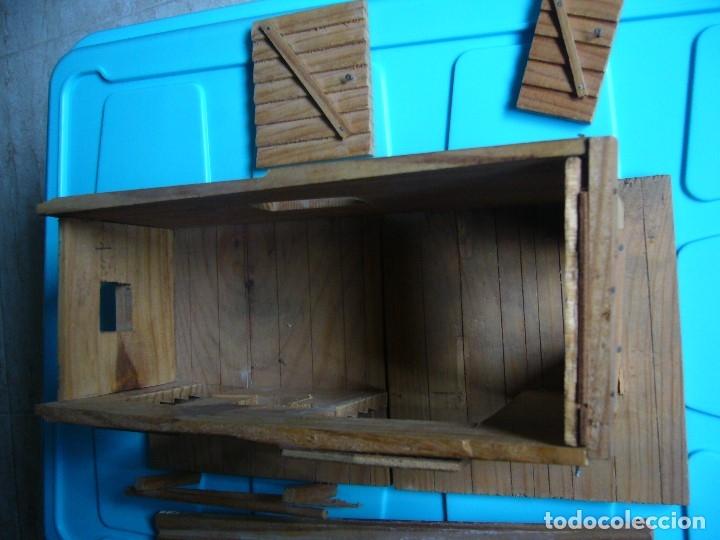 Figuras de Goma y PVC: RANCHO DE MADERA POSIBLE TEIXIDO - Foto 8 - 180464338