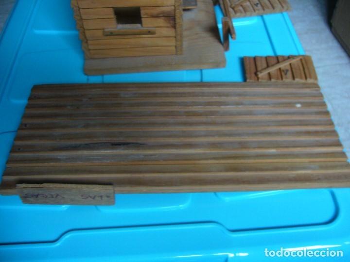 Figuras de Goma y PVC: RANCHO DE MADERA POSIBLE TEIXIDO - Foto 11 - 180464338