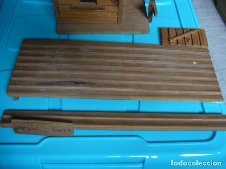Figuras de Goma y PVC: RANCHO DE MADERA POSIBLE TEIXIDO - Foto 12 - 180464338