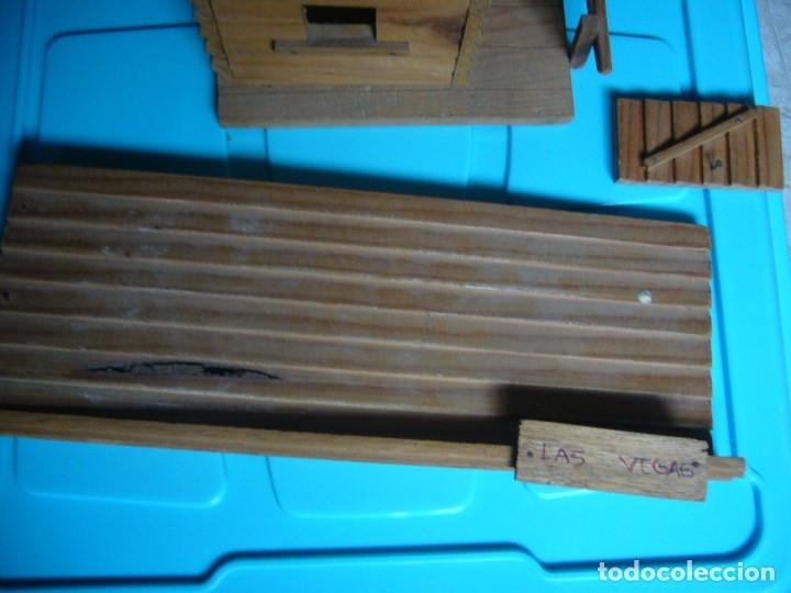 Figuras de Goma y PVC: RANCHO DE MADERA POSIBLE TEIXIDO - Foto 13 - 180464338