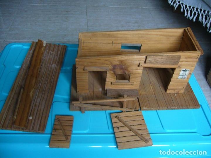 Figuras de Goma y PVC: RANCHO DE MADERA POSIBLE TEIXIDO - Foto 14 - 180464338