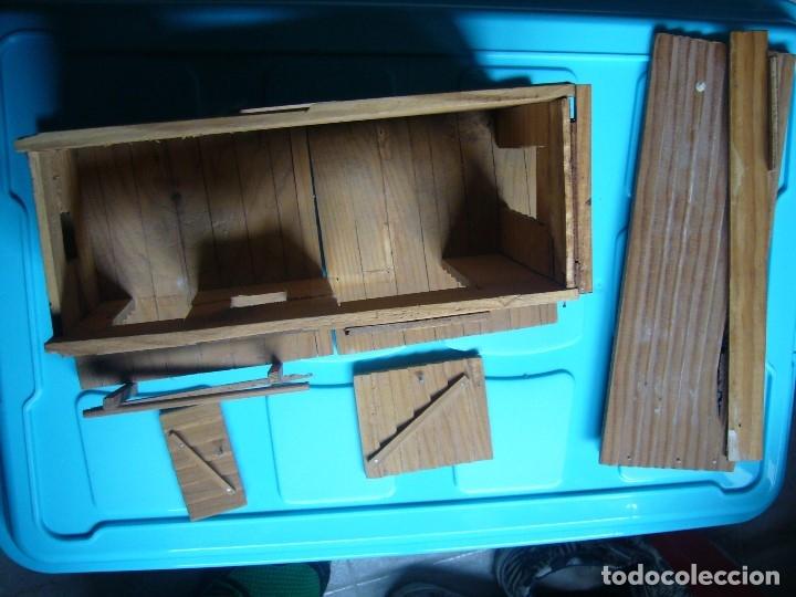 Figuras de Goma y PVC: RANCHO DE MADERA POSIBLE TEIXIDO - Foto 15 - 180464338