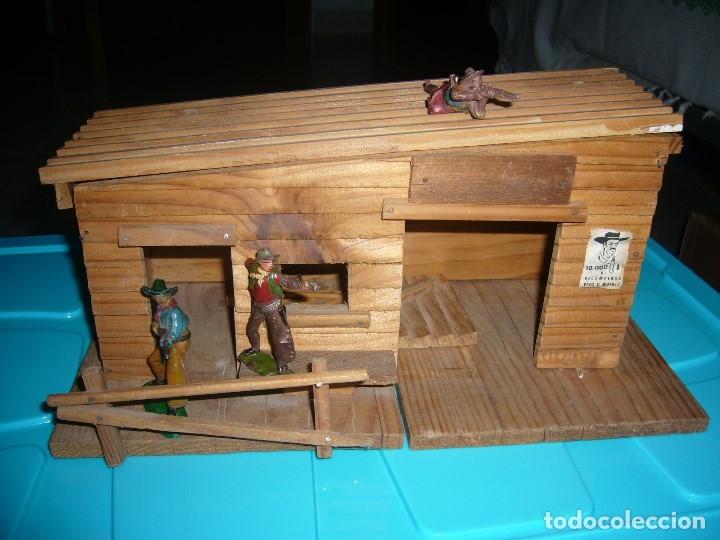 Figuras de Goma y PVC: RANCHO DE MADERA POSIBLE TEIXIDO - Foto 16 - 180464338
