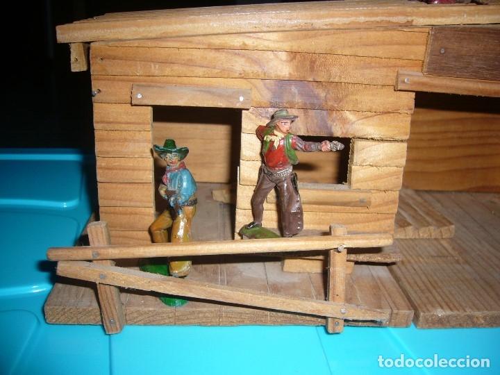Figuras de Goma y PVC: RANCHO DE MADERA POSIBLE TEIXIDO - Foto 17 - 180464338
