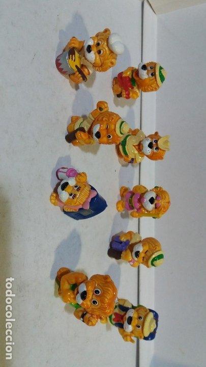 9 FIGURAS HUEVOS KINDER FERRERO (Juguetes - Figuras de Gomas y Pvc - Kinder)