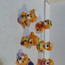 Figuras Kinder: 9 FIGURAS HUEVOS KINDER FERRERO. Lote 180466686