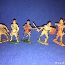Figuras de Goma y PVC: LOTE SOLDADOS REAMSA. 116, 188, 180, 277, 276. Lote 180487061