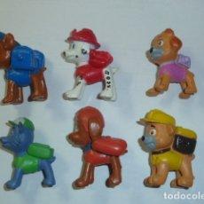 Figuras de Goma y PVC: LOTE PATRULLA CANINA. Lote 180514665