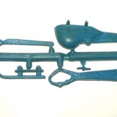 Figuras de Goma y PVC: MONTAPLEX 1 COLADA DEL HELICÓPTERO FURIA - COLOR FOTO - KIOSKO AÑOS 70´S. Lote 180849373