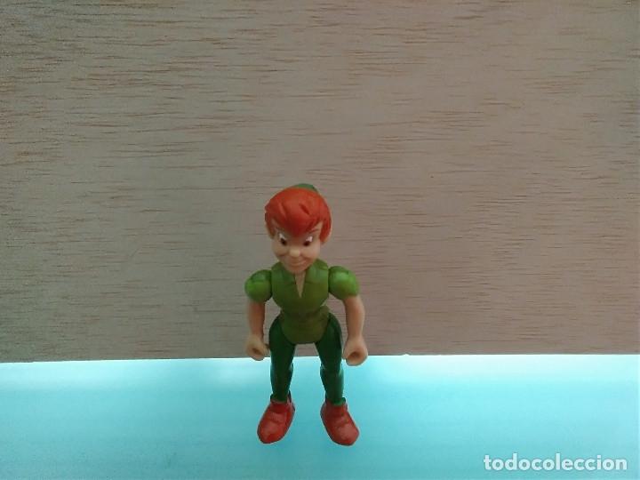 MUÑECO PLASTICO ARTICULADO PETER PAN WALT DISNEY (Juguetes - Figuras de Goma y Pvc - Bully)