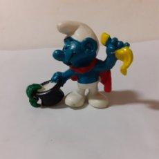 Figuras de Goma y PVC: PITUFO MAGO. Lote 180888032