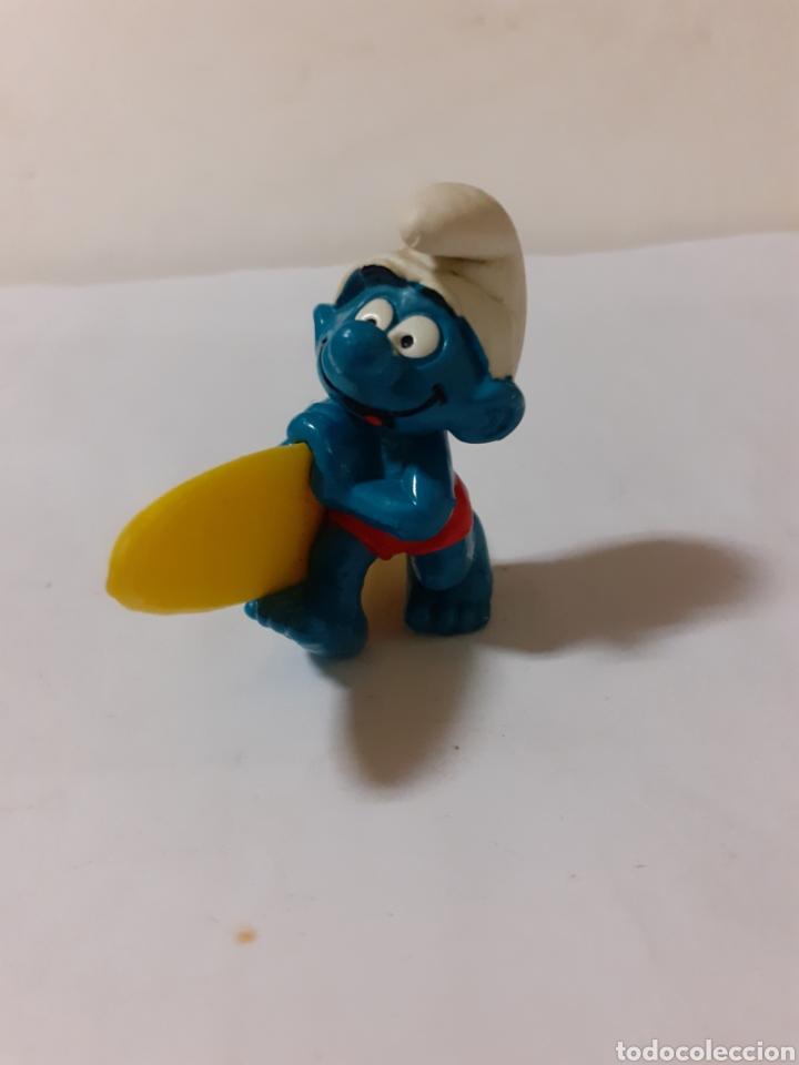 Figuras de Goma y PVC: PITUFO SURSFISTA - Foto 2 - 180888841