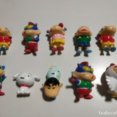 Figuras Kinder: LOTE DE 10 FIGURAS DE CHIN CHAN KINDER. Lote 180900836
