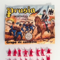 Figuras de Goma y PVC: MONTAPLEX - SOBRE VACIO PRUSIA Y UNA COLADA DE PRUSIANOS. Lote 180905420