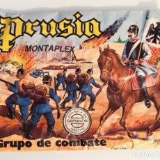 Figuras de Goma y PVC: MONTAPLEX - SOBRE VACIO PRUSIA. Lote 180905420