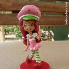 Figuras de Goma y PVC: FIGURA TARTA DE FRESA PVC. Lote 180986290