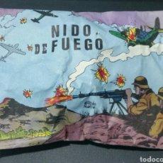 Figuras de Goma y PVC: RARISIMO SOBRE CERRADO TIPO MONTAPLEX NIDO DE FUEGO. Lote 181083097