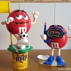 Figuras de Goma y PVC: M & MS. PRECIOSO LOTE DE 2 DISPENSADORES. . Lote 181178602