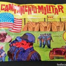Figuras de Goma y PVC: SOBRE CERRADO TIPO MONTAPLEX CAMPAMENTO MILITAR ALFREDO LOSADA. Lote 181193763