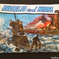 Figuras de Goma y PVC: SOBRE CERRADO TIPO MONTAPLEX DUELO EN EL MAR ALFREDO LOSADA. Lote 181194108