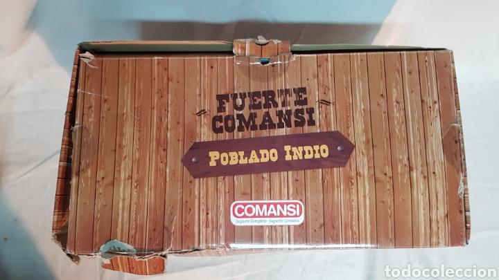 Figuras de Goma y PVC: FUERTE COMANSI, POBLADO INDIO - Foto 3 - 181218051