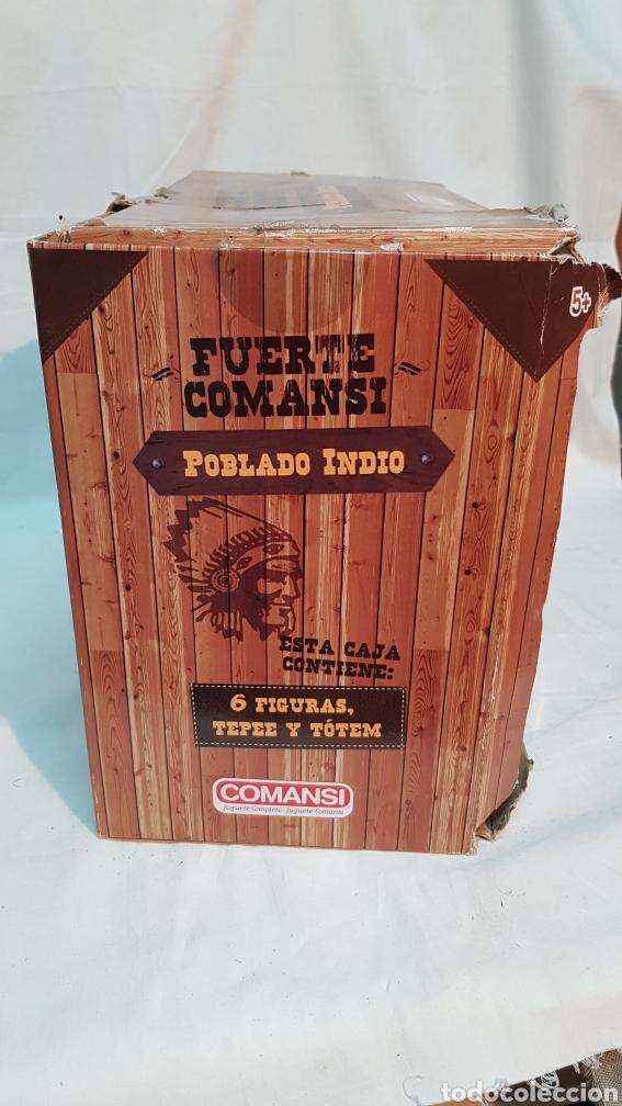 Figuras de Goma y PVC: FUERTE COMANSI, POBLADO INDIO - Foto 4 - 181218051