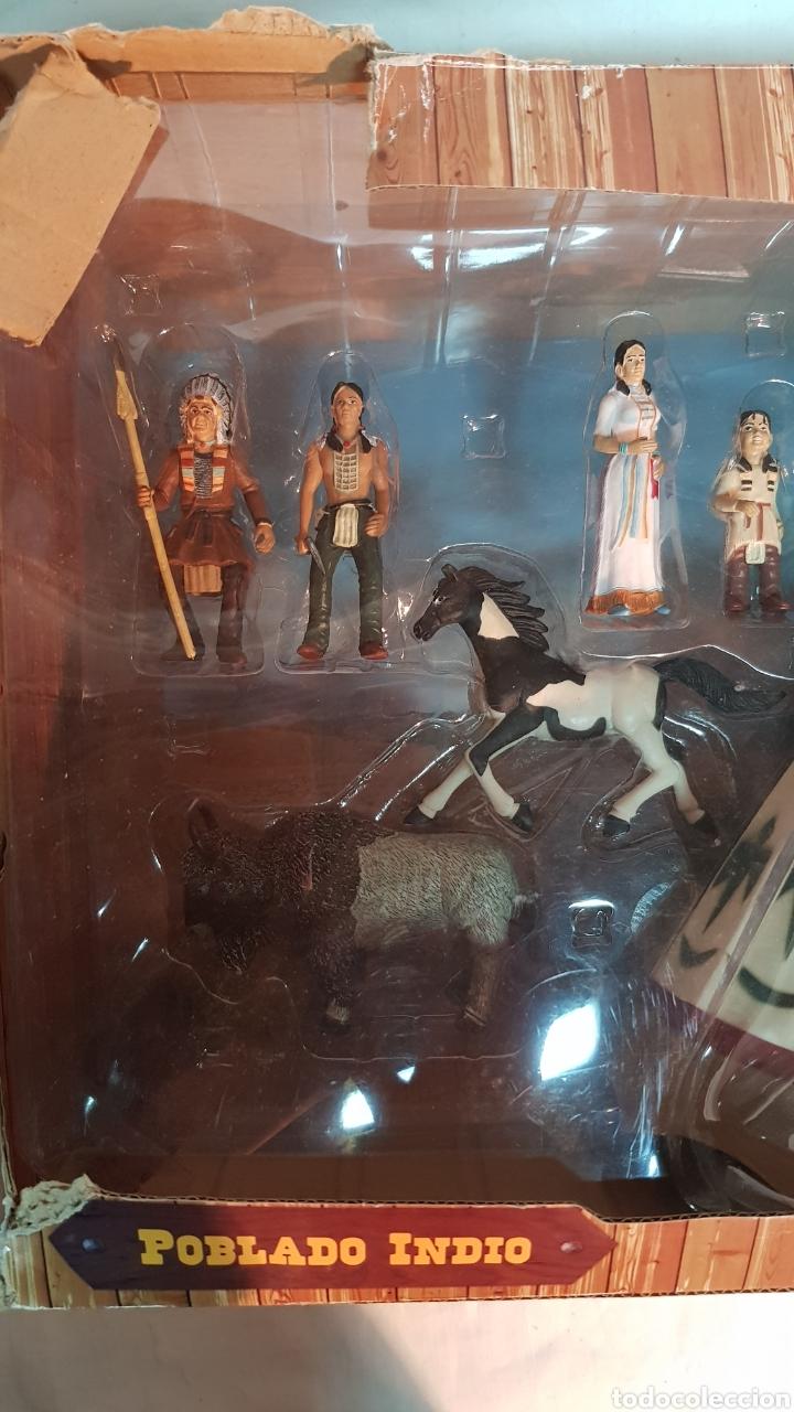Figuras de Goma y PVC: FUERTE COMANSI, POBLADO INDIO - Foto 7 - 181218051