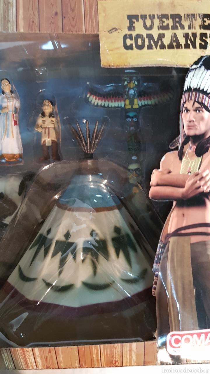 Figuras de Goma y PVC: FUERTE COMANSI, POBLADO INDIO - Foto 8 - 181218051