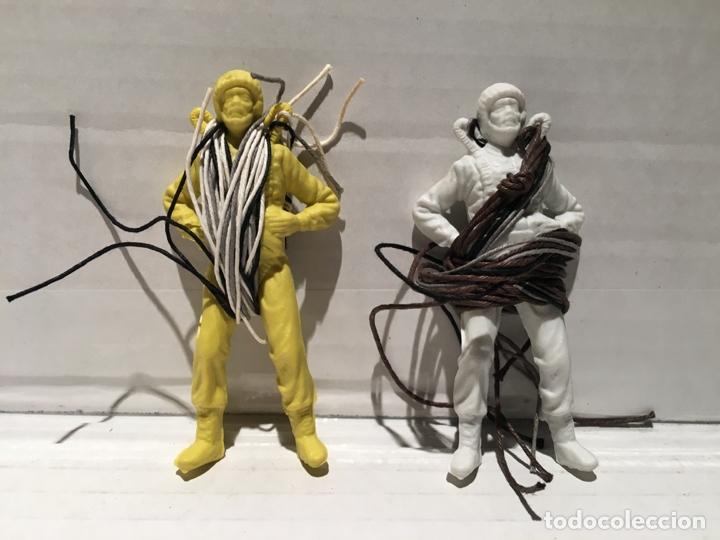 PARACAIDISTA MITICO AÑOS 60/70 - SOLO MUÑECO (Juguetes - Figuras de Goma y Pvc - Pipero)