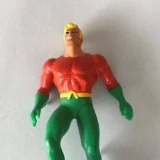 Figuras de Goma y PVC: AQUAMAN SUPERHEROE FIGURA ACCION PVC COMICS SPAIN - NO BATMAN SUPERMAN BULLY. Lote 181450293