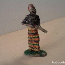 Figuras de Goma y PVC: FIGURA DE GOMA KAKUANA SERIE MINAS DEL REY SALOMÓN PECH. Lote 181501280